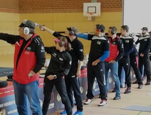 3. Wettkampf-Wochenende 1. Bundesliga Luftpistole
